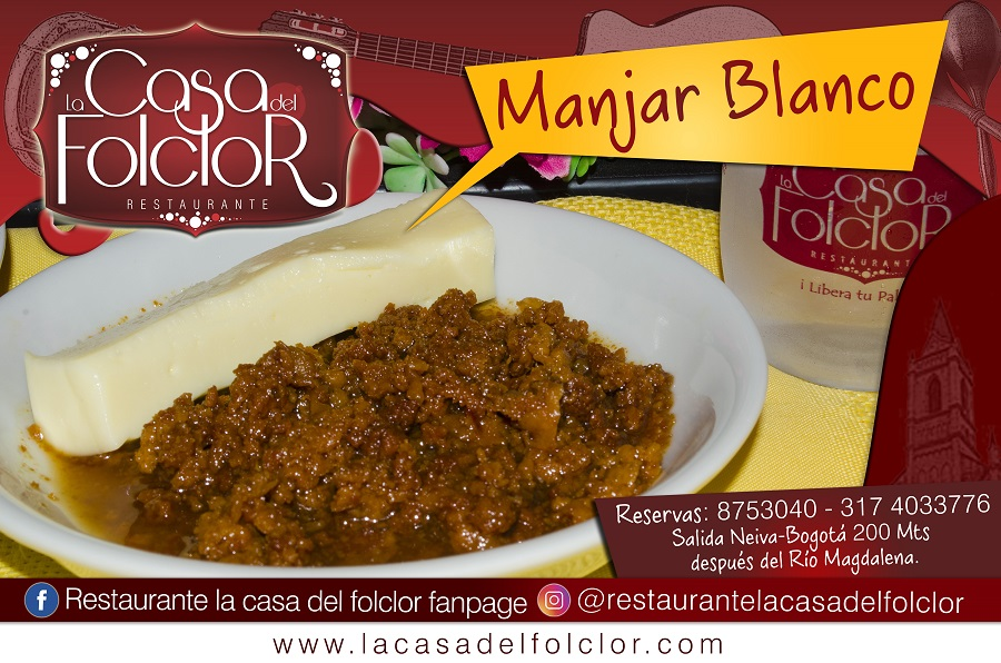 Flayer Manjar Blanco